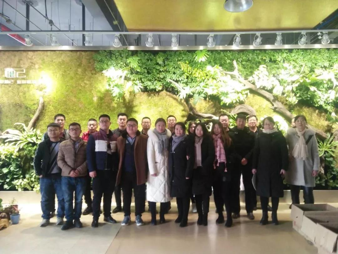 武山县电商讲师储备人才赴咸阳观摩学习电子商务工作